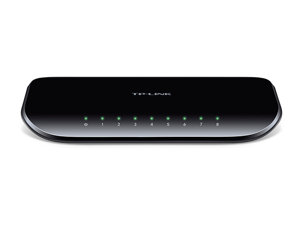 TP-LINK 8-Port Gigabit Desktop Switch SG1008D Image | Metro Solutions