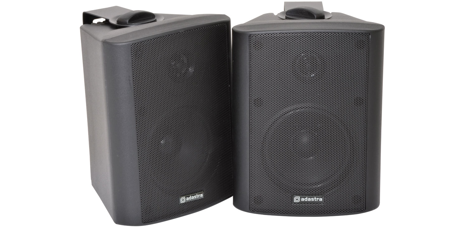 4″ Indoor Speakers BC4 Black Image | Metro Solutions