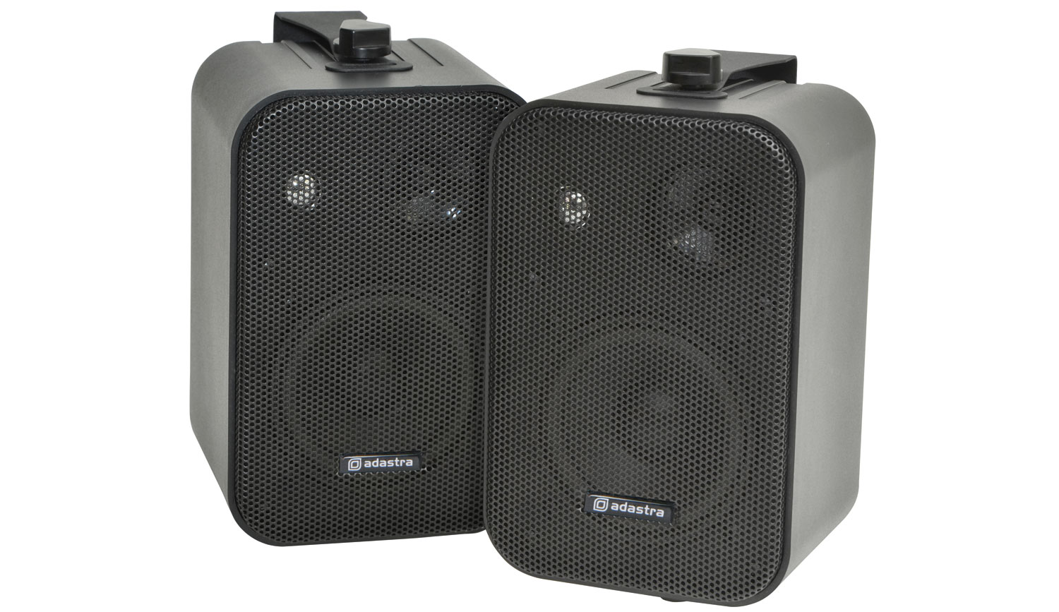 100V Line Background Speakers B3OV Black Pair Image | Metro Solutions