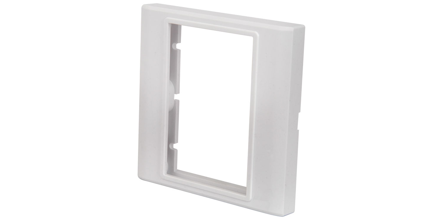 Modules Wallplate – Single gang frame Image | Metro Solutions