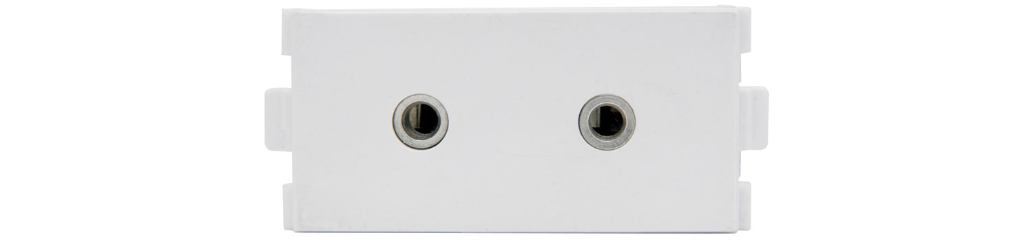 2 x 3.5mm STEREO SOCKET MODULES Image | Metro Solutions