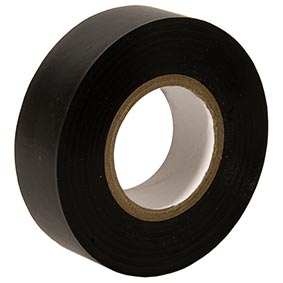 PVC Tape Black Image | Metro Solutions