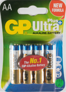AA Blister pack Batteries per 4 pck Image | Metro Solutions