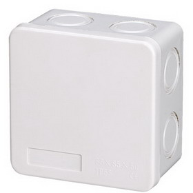 Junction box no. 1 IP55 85x85x50 Image | Metro Solutions