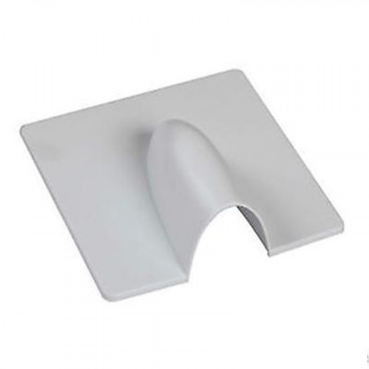 Burst Out Plate White Image | Metro Solutions