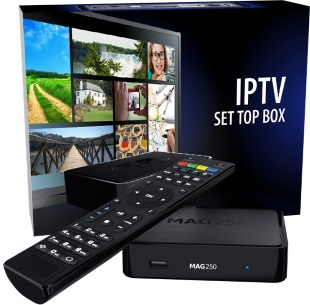 MAG 250 IPTV Set Top Box Image | Metro Solutions
