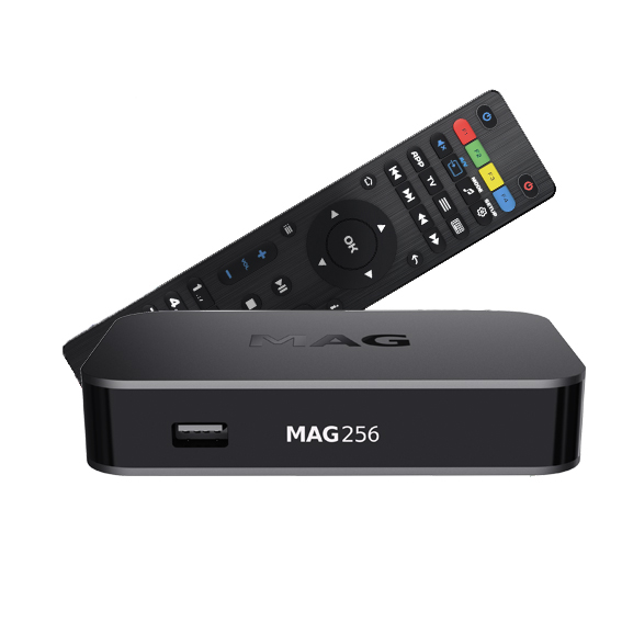 MAG 256 IPTV Set Top Box Image | Metro Solutions