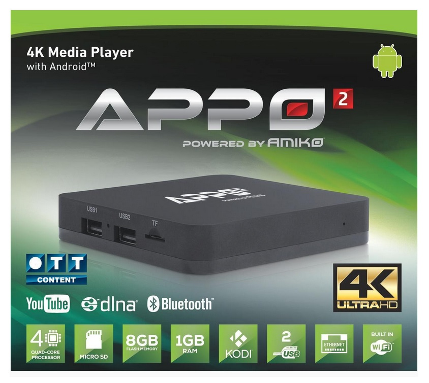 Amiko APPO Android Box Image | Metro Solutions