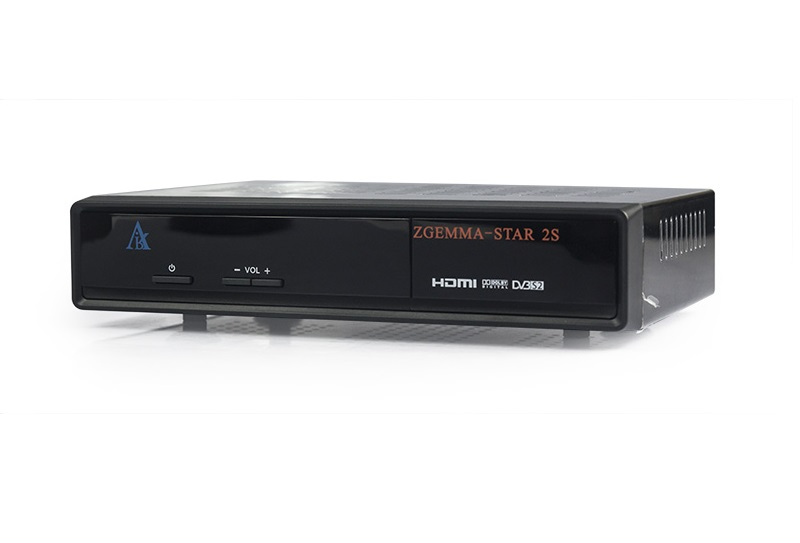 Zgemma 2S Twin Tuner Satellite Receiver Image | Metro Solutions