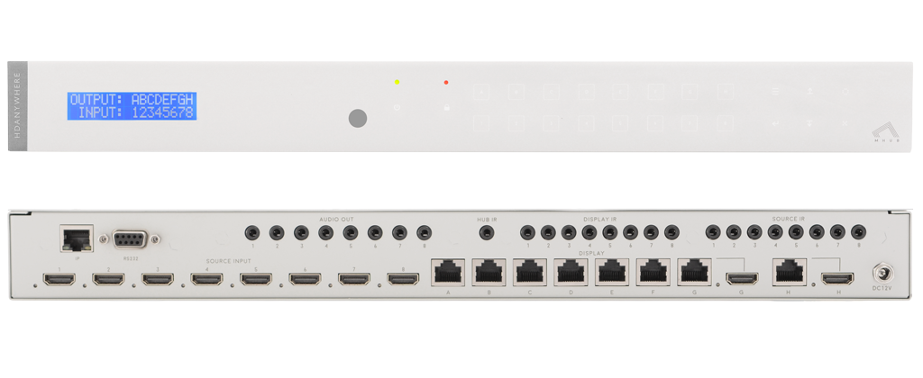 HDAnywhere mhub 2k 8 x 8 Matrix Switch Image | Metro Solutions