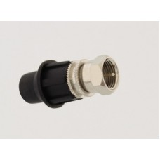 CaP F-Type Male Connector + CaP Covers 100 Image | Metro Solutions