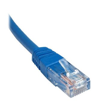 CAT6 High Quality Patch Lead 0.5mtr – Blue Image   Metro Solutions