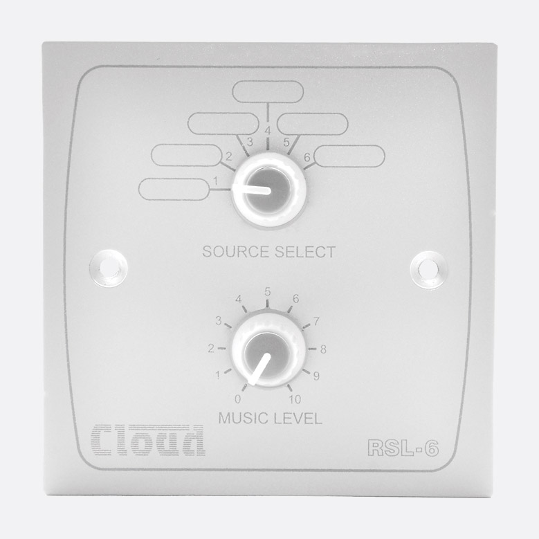 Cloud RSL-6W Remote Source / Volume Level Sel Image | Metro Solutions