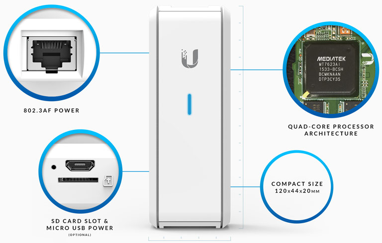 UBNT Cloud Key Controller UC-CK Image | Metro Solutions