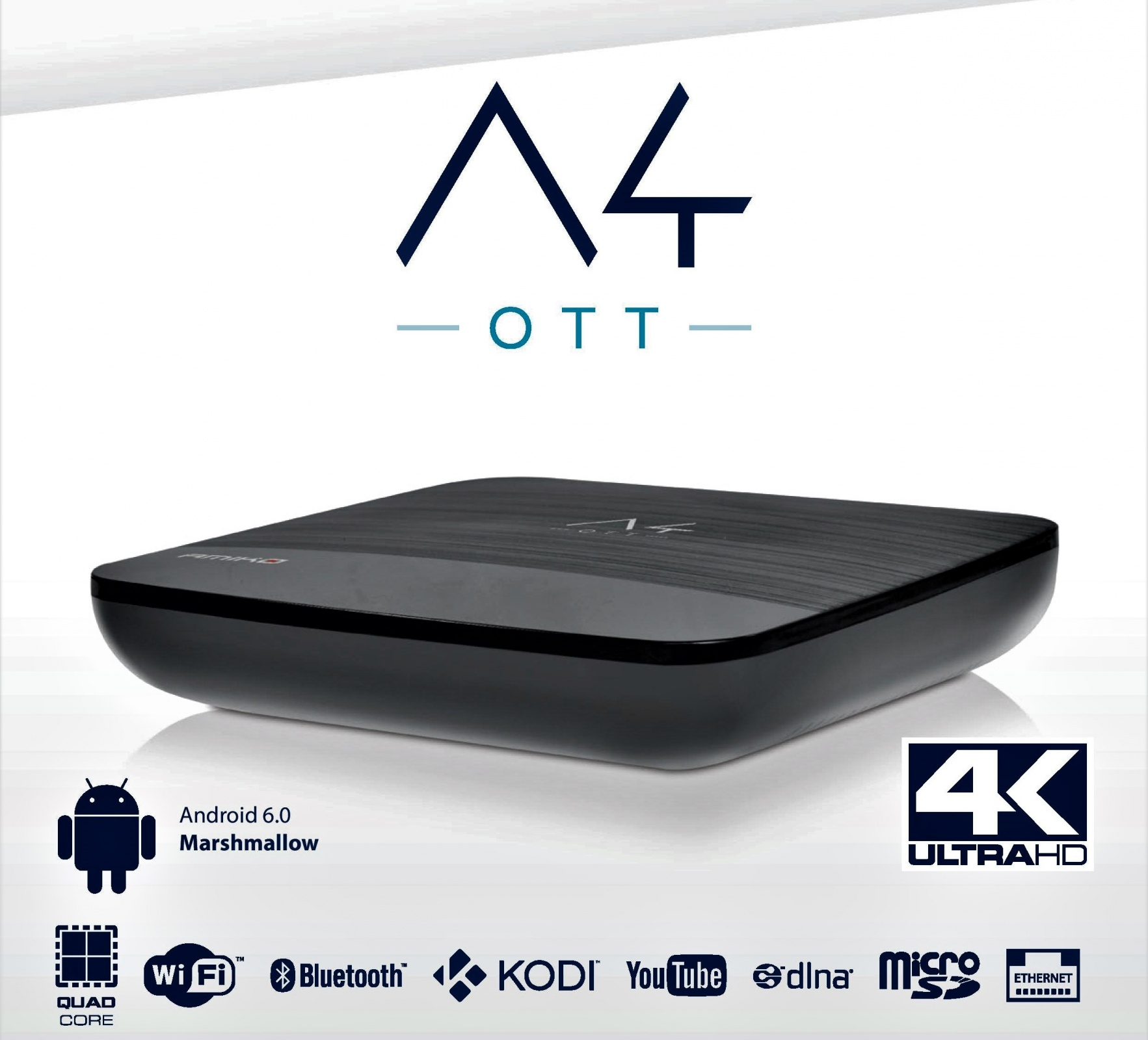 Amiko A4 4K Android Receiver Image | Metro Solutions