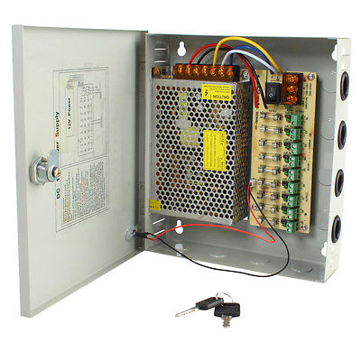 12v 30A 18 Output  CCTV Wall Power Supply Image | Metro Solutions