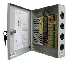 12v 15A 9 Output  CCTV Wall Power Supply Image | Metro Solutions