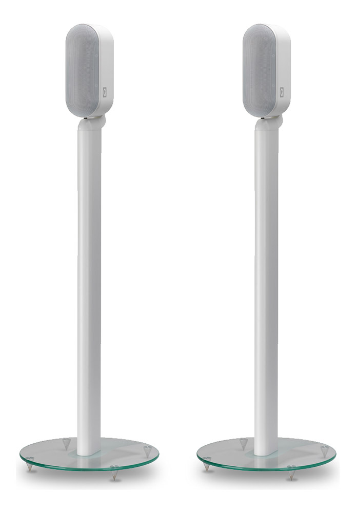 Q Acoustics Q7000ST Stands White Pair Image | Metro Solutions