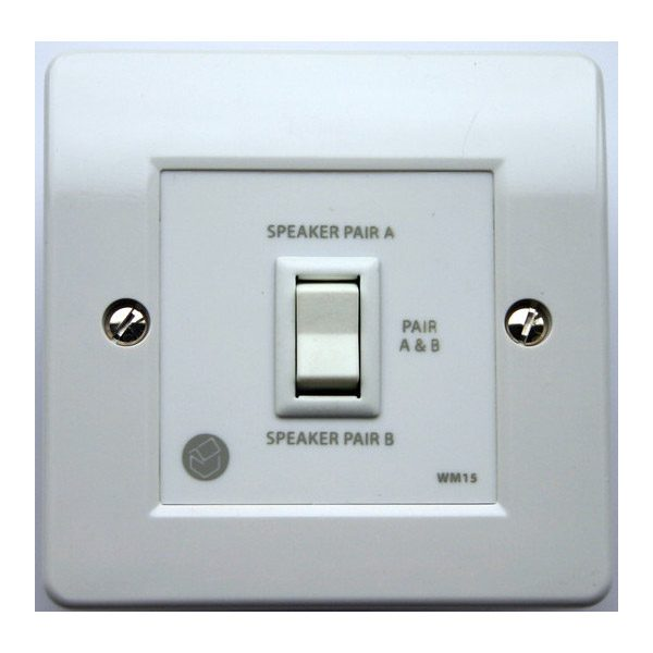 QED In-Wall Two Way Speaker Switch-Parallel Image | Metro Solutions