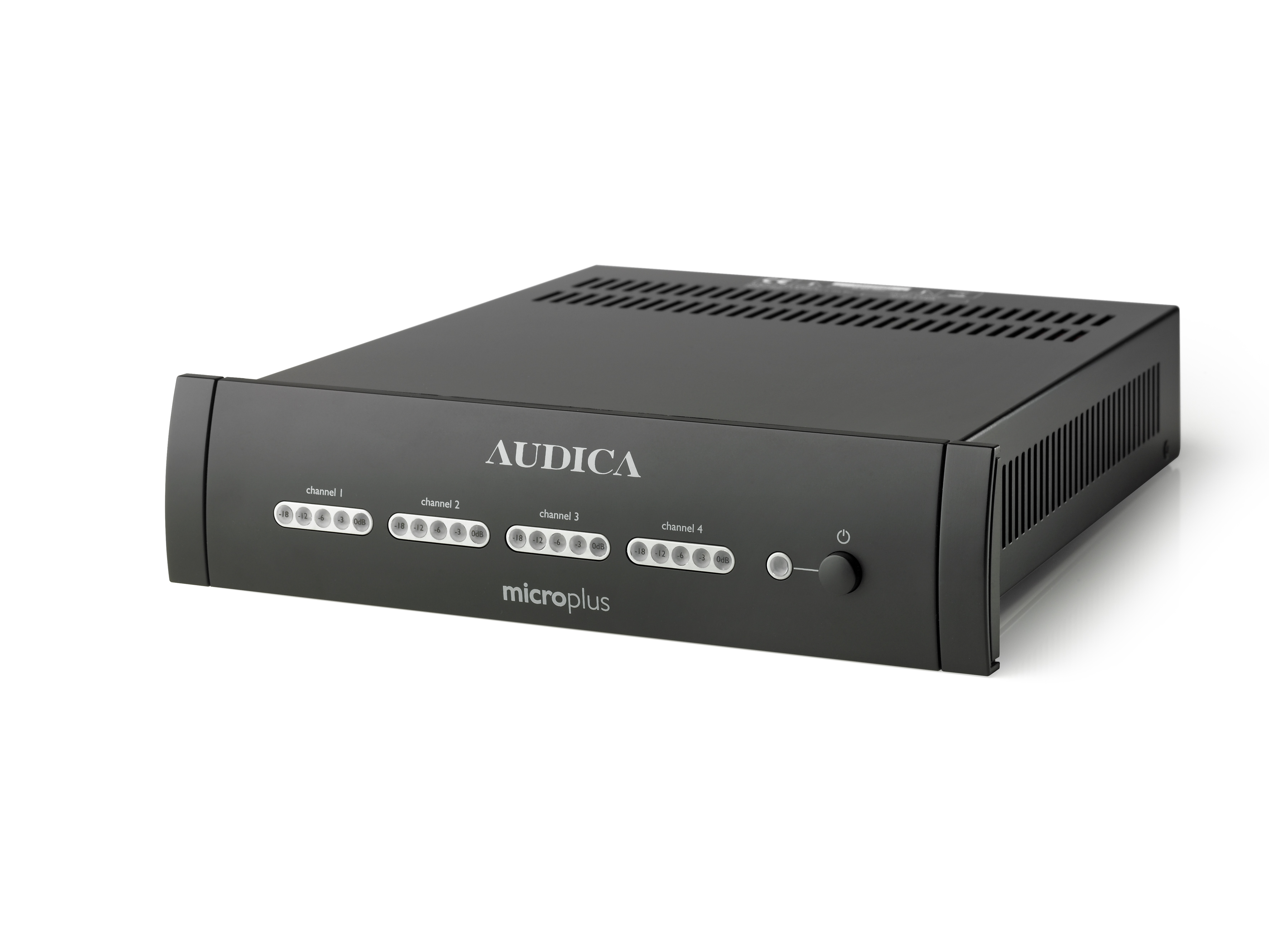 Audica Pro MicroPlus 4 Channel Power Amplifie Image | Metro Solutions