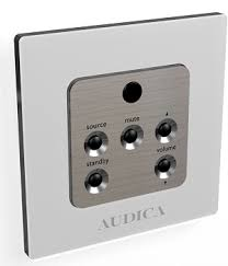 Audica Pro WMR Wall Mount Remote MicroZone Image | Metro Solutions