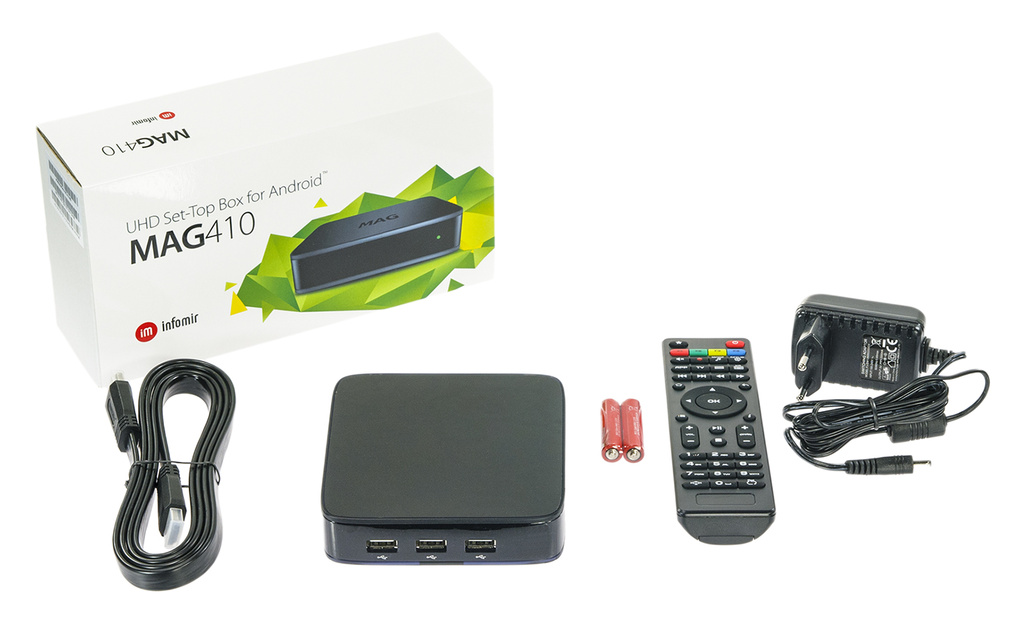 MAG 410 IPTV Set Top Box with Android Image | Metro Solutions