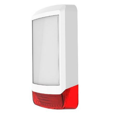 Texecom Odyssey X1 Cover (White/Red) WDA-0002 Image | Metro Solutions