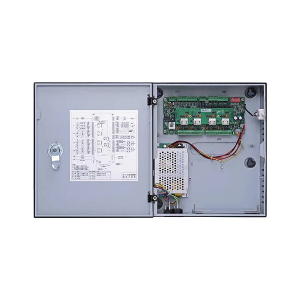 Four Door Two Way Access Controller with PSU Image | Metro Solutions