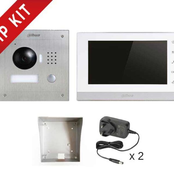 Dahua IP  Video Intercom Kit Image   Metro Solutions