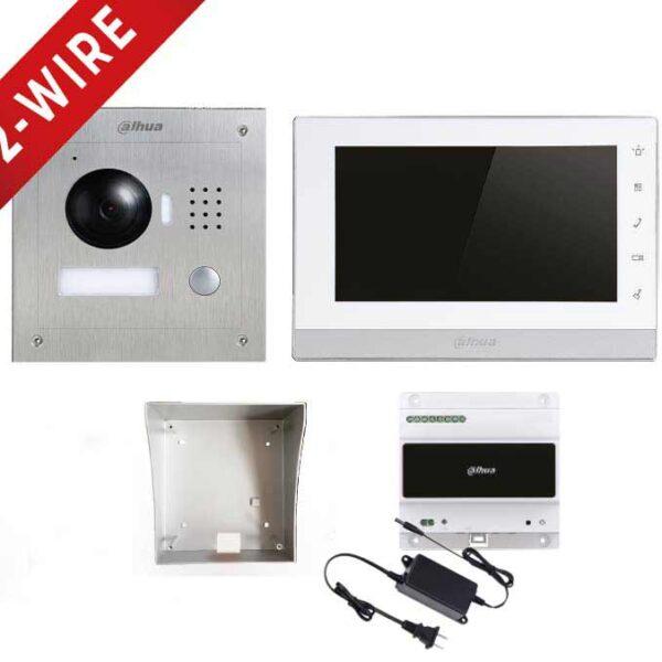 Dahua 2-Wire IP Video Intercom Kit Image | Metro Solutions