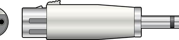 XLR Female –  6.3mm Female Jack Image | Metro Solutions