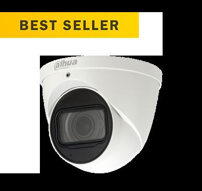 Dahua IP 4MP V/F Eyeball Dome 2.7mm-13.5mm 50 Image   Metro Solutions