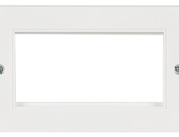 AV:Link Double Wall Plate Frame Image | Metro Solutions
