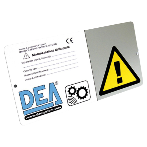 DEA Warning Sign Image | Metro Solutions