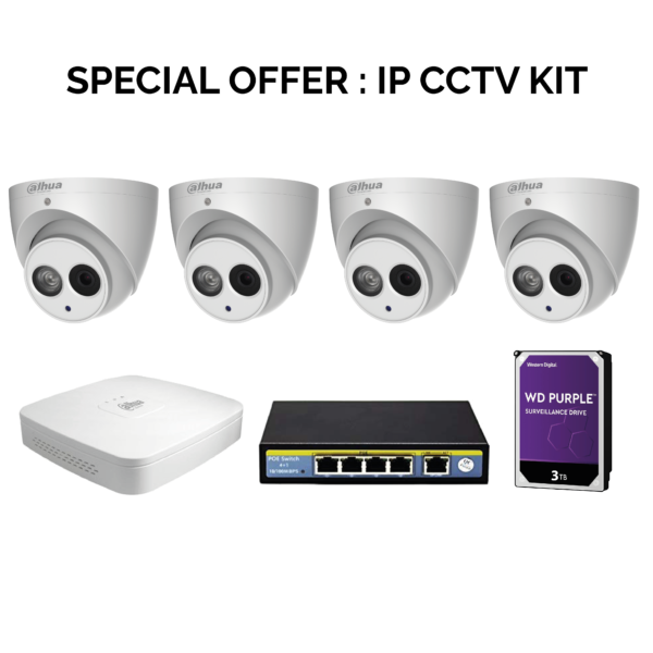 Special Offer IP CCTV Kit while Stocks last Image | Metro Solutions
