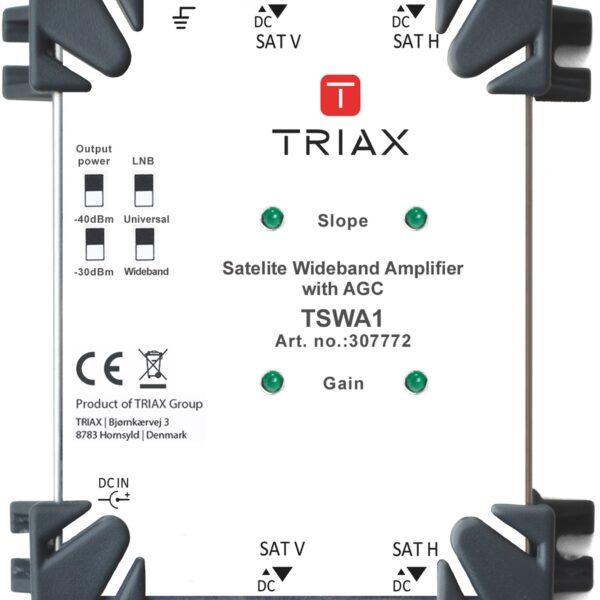 Triax TSWA-1 Satellite Amp Image | Metro Solutions