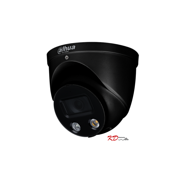 Dahua IP 5MP TIOC Full Colour Dome 2.8mm BLACK Image | Metro Solutions