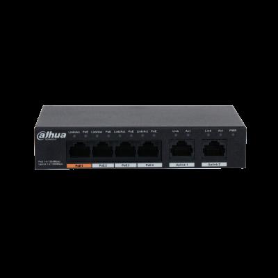 Dahua 4 Port POE Switch 2 Uplink PFS3006-4ET- Image | Metro Solutions