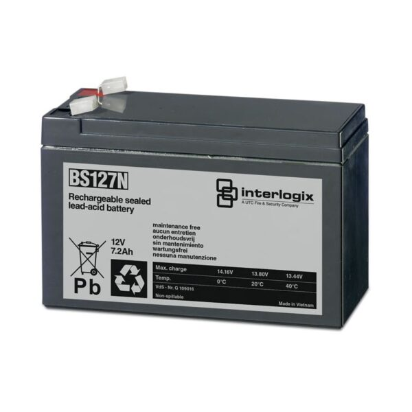 CB170 12v 7.2A Alarm Battery Image | Metro Solutions