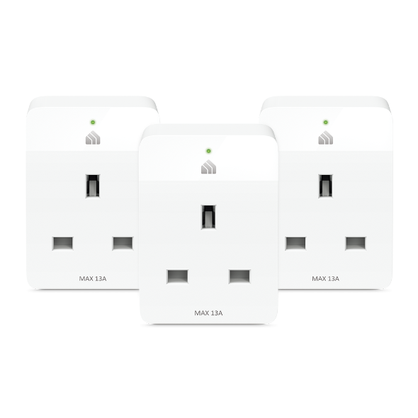 Tp-Link Kasa Wi-Fi Smart Plug, 3 pack KP105P3 Image | Metro Solutions