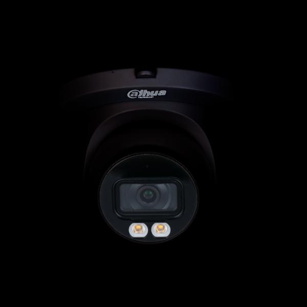 Dahua IP 5MP Lite AI Full Colour Dome BLACK 2.8mm Image | Metro Solutions