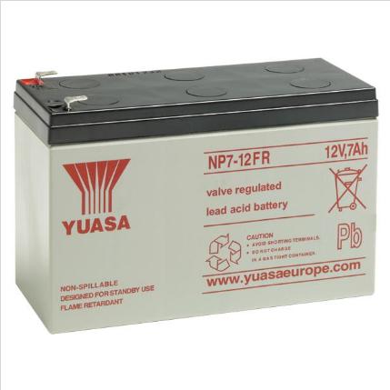 YUASA Battery 12v 7.2Amp FR NP7-12FR Image | Metro Solutions