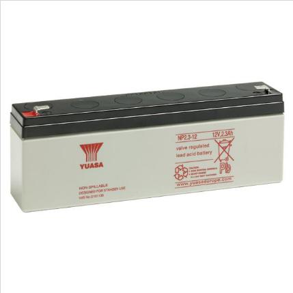 YUASA Battery 12v 2.3Amp NP2.3-12 Image | Metro Solutions