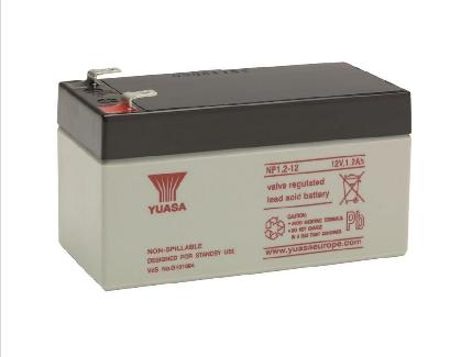YUASA Battery 12v 1.2Amp NP1.2-12 Image | Metro Solutions