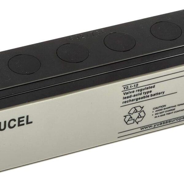 YUCEL Battery 12v 2.1Amp Y2.1-12 Image | Metro Solutions