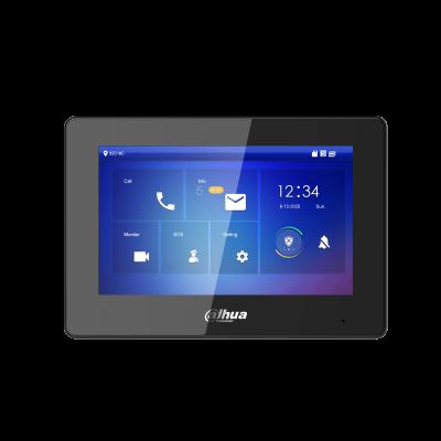 Dahua 7″ 2-Wire Indoor Monitor Black VTH5422HB Image   Metro Solutions