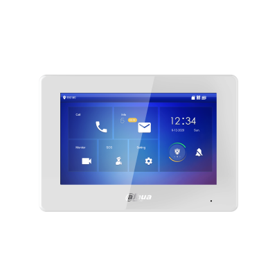 Dahua 7″ 2-Wire Indoor Monitor White VTH5422HW Image | Metro Solutions
