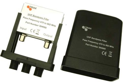 Triax UHF Bandpass Filter